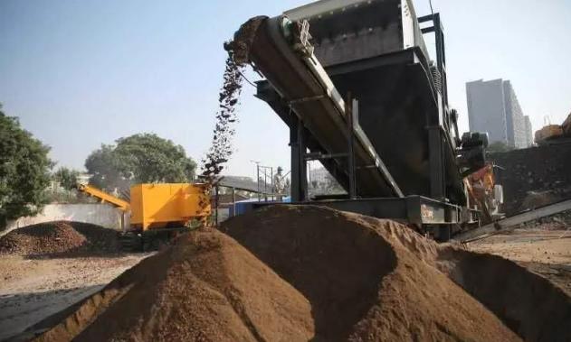 北京:南苑棚改建筑垃圾变身再生材料