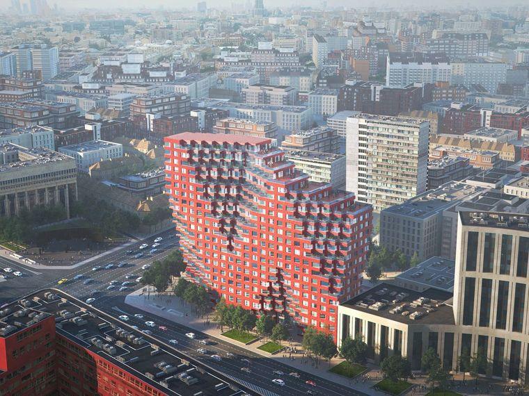 MVRDV 在俄罗斯的第一座建筑:RED7