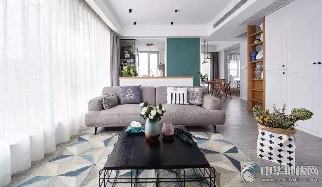 歐派地板 | 溫馨北歐風——因木紋而美 因自然而舒適