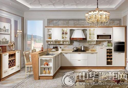 來一組簡歐風格廚房設計 滿足你吃貨的心!
