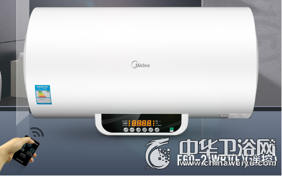 美的無線遙控智能熱水器 提前預熱想洗就洗