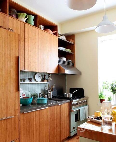 裝一網傾力推薦:六款雅致整體櫥柜裝修效果圖