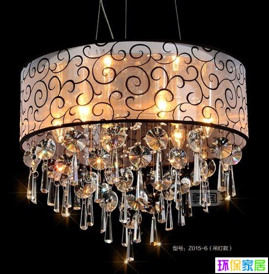 4款美cry的水晶吊燈 給你一個夢幻華麗客廳